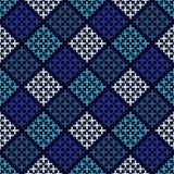 Ethnic boho seamless pattern. Embroidery. Traditional ornament. Geometric background. Tribal pattern. Folk motif. Textile rapport royalty free illustration
