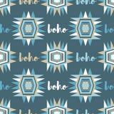 Ethnic boho seamless pattern. Retro motif. Royalty Free Stock Photos