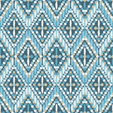 Ethnic boho seamless pattern. Retro motif. vector illustration