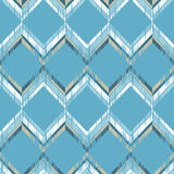 Ethnic boho seamless pattern. Scratches grunge zigzag texture. Retro motif. Textile rapport Stock Photography