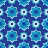 Ethnic boho seamless pattern. Scribble texture. Retro motif. Royalty Free Stock Photos