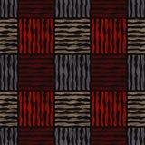 Ethnic boho seamless pattern. Scribble texture. Retro motif. Stock Photo