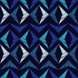 Ethnic boho seamless pattern. Scribble texture. Retro motif. Stock Photos