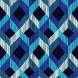 Ethnic boho seamless pattern. Scribble texture. Retro motif. Stock Images