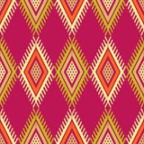 Ethnic boho seamless pattern. Traditional ornament. Geometric background. Tribal pattern. Folk motif. Textile rapport vector illustration