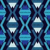 Ethnic boho seamless pattern.  Traditional ornament. Geometric background. Tribal pattern. Folk motif. Textile rapport Royalty Free Stock Image