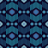 Ethnic boho seamless pattern. Tribal art print, repeatable background. Retro motif. Textile rapport Royalty Free Stock Images