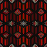 Ethnic boho seamless pattern. Tribal art print, repeatable background. Retro motif. Textile rapport Royalty Free Stock Photography
