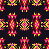 Ethnic boho seamless pattern. Tribal art print, repeatable background. Retro motif. Textile rapport Stock Photos