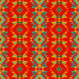 Ethnic boho seamless pattern. Tribal art print, repeatable background. Retro motif. Textile rapport Royalty Free Stock Photo