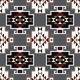 Ethnic boho seamless pattern. Tribal art print, repeatable background. Retro motif. Textile rapport Stock Images