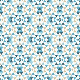 Ethnic boho seamless pattern. Tribal art print, repeatable background. Retro motif. Textile rapport Stock Photo