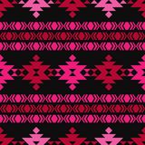 Ethnic boho seamless pattern. Tribal pattern. Folk motif. Textile rapport stock illustration