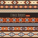 Ethnic borders Stock Photography