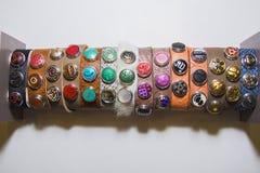 Ethnic bracelets Stock Photography