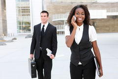 Ethnic Business Team Stock Images