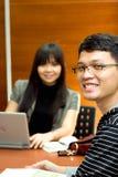 Ethnic business team meeting Stock Image
