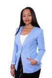 Ethnic businesswoman Stock Image