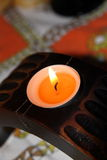 Ethnic Candle Stock Photo