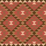 Ethnic carpet design Royalty Free Stock Image