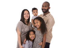 Ethnic casual family Stock Image