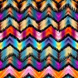 Ethnic chevron pattern. Royalty Free Stock Photos