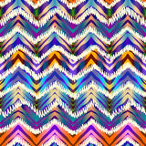 Ethnic chevron pattern. Royalty Free Stock Image