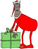 Ethnic Christmas elf Stock Photo