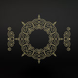 Ethnic Circle Element. Orient Traditional Design. Lace Pattern. Stock Photos