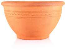 Ethnic clay tableware Stock Photography