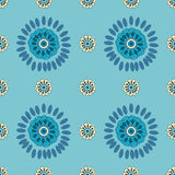Ethnic Colorful pattern backgrounds. Royalty Free Stock Image