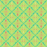 Ethnic colorful seamless pattern with arrows. Hand Royalty Free Stock Photography