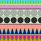 Ethnic_colors. Contemporary seamless colorful ethnic pattern Stock Images