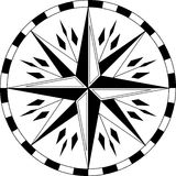 Ethnic compass Stock Photos