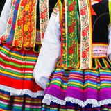 Ethnic costumes Royalty Free Stock Images