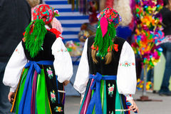 Ethnic costumes Stock Photography