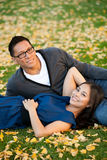 Ethnic couple Stock Photos