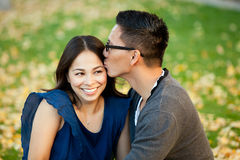 Ethnic couple Royalty Free Stock Images