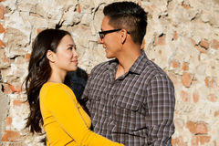 Ethnic couple Stock Photo