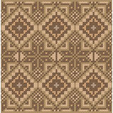 Ethnic cross stitch pattern. Stock Photo