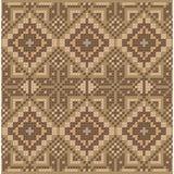 Ethnic cross stitch pattern. Ethnic cross stitch flourish pattern Royalty Free Illustration