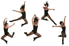 Ethnic Dancer With Many Poses Royalty Free Stock Photography