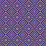 Ethnic decorative motifs in purple tones Royalty Free Stock Photography