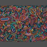 Ethnic decorative seamless pattern. Ethnic hand drawn ornamental decorative seamless pattern Royalty Free Stock Photo