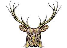 Ethnic deer Stock Photo