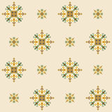 Ethnic design seamless pattern Stock Images