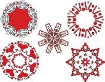 Ethnic designs royalty free illustration