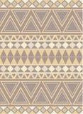 Ethnic Diamond Triangle Pattern Stock Photos