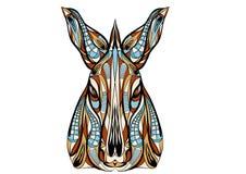 Ethnic donkey Stock Image
