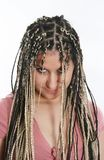 Ethnic dreadlocks Stock Image